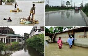 Assam Floods: असम में बाढ़ से हाहाकार, 16 जिलों के 2.53 लाख लोग प्रभावित, नदियां खतरे के निशान से ऊपर