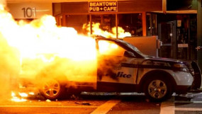 I Can't Breathe: अमेरिका के 40 शहरों में फैली जॉर्ज फ्लॉयड की मौत के विरोध की आग, व्हाइट हाउस तक पहुंचे प्रदर्शनकारी