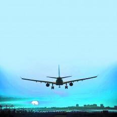 चक्रवात का असर, बीच रास्ते से लौटा पुणे का विमान
