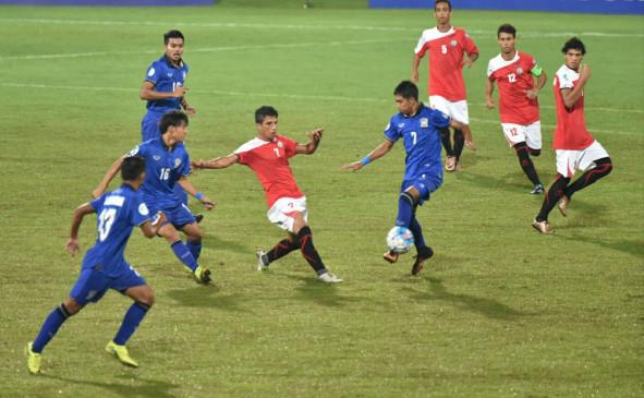 फुटबॉल: एएफसी अंडर-16 चैंपियनशिप में भारत ग्रुप-सी में