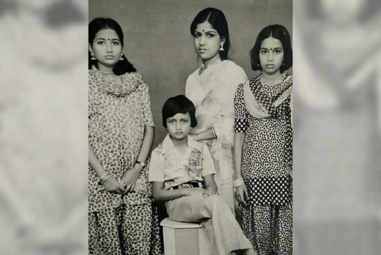 किच्चा सुदीप को सेल्फी के बीच विंटेज फैमिली तस्वीरों के दिनों की याद आई