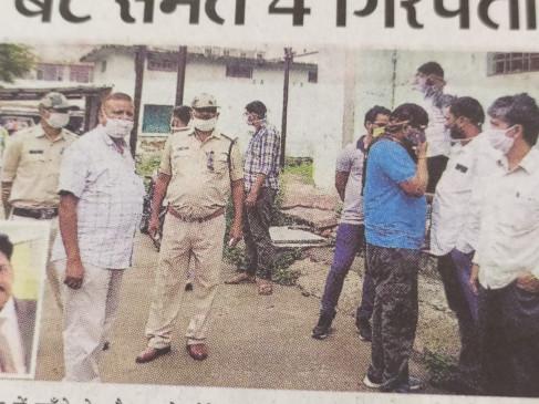 पेड़ काटने के विवाद को लेकर कत्ल, बाप-बेटे समेत 4 गिरफ्तार