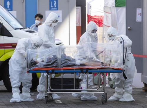 कोविड-19 : दक्षिण कोरिया में 57 नए मामले, कुल आंकड़ा 11,776