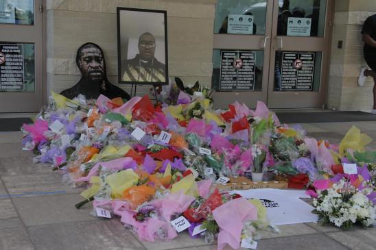 अमेरिका: हयूस्टन में हुआ जॉर्ज फ्लॉयड का अंतिम संस्कार, अंतिम विदाई मे जुटे सैकड़ों लोग