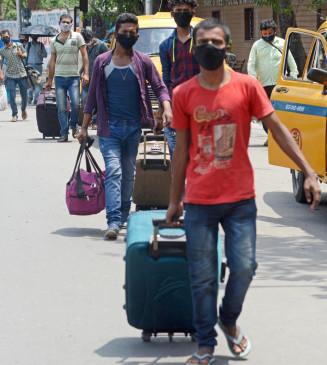 कर्नाटक में प्रवासी मजदूरों के आने का लंबा इंतजार