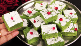 Sweet: सिर्फ 15 मिनट में बनाएं लौकी की स्वादिष्ट बर्फी, जानें रेसिपी