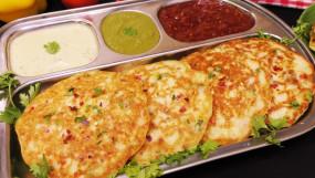 Breakfast: सिर्फ 2 चीजों से 10 मिनट में बनाएं 'राइस वेजी पैनकेक', जानें रेसिपी