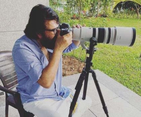 ममूटी अपने मॉर्निग गेस्ट के लिए बने फोटोग्राफर