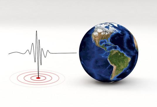 कश्मीर में मध्यम तीव्रता के भूकंप का झटका