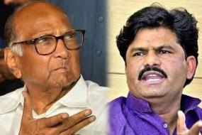 विधायक पडलकर ने पवार को कहा कोरोना, भड़के एनसीपी नेता, भाजपा ने भी किया किनारा