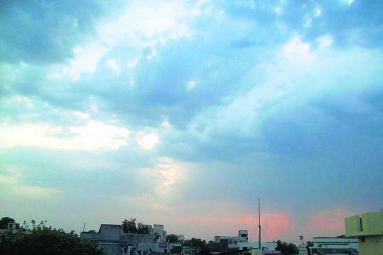 नागपुर पहुंचा मानसून , सुबह बूंदाबांदी, दिन भर छाए रहे बादल