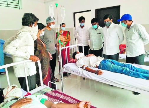 नागपुर : गैस्ट्रो से बुजुर्ग की मौत , 19 लोग अस्पताल में भर्ती