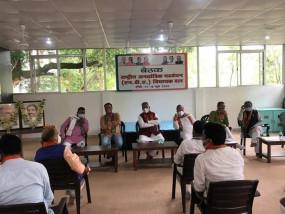 राज्यसभा चुनाव पर रांची में राजग की बैठक, आजसू ने भी की शिरकत