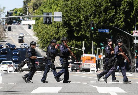 पूरे लॉस एंजेलिस में नए कर्फ्यू की घोषणा