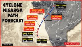 निसर्ग तूफान: महाराष्ट्र और गुजरात के तटीय इलाके खाली कराए, 100 से 110 किमी किमी/घंटे की रफ्तार से चल सकती हैं हवाएं