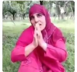कश्मीर में अब महिला सरपंच ने आतंकियों से मांगी जान की भीख
