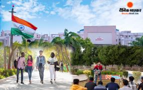 वडोदरा की पारुल यूनिवर्सिटी के छात्र विश्व की फार्च्यून कंपनी में लहरा रहे भारत का परचम