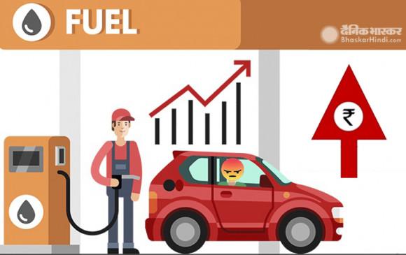 Fuel Price: तीन दिनों में 1.74 रुपए प्रति लीटर तक महंगा हुआ पेट्रोल- डीजल, जानें आज के दाम
