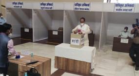 मप्र में राज्यसभा सदस्य के लिए मतदान शुरू