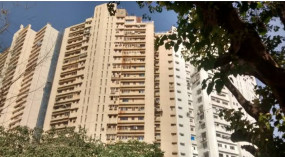 मुंबई में कोरोना के 21 मामले आने पर पॉश टॉवर सील