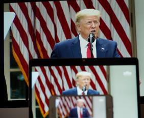 राष्ट्रपति ट्रंप ने अमेरिका में अशांति के बीच सेना भेजने की दी चेतावनी