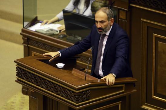 आर्मेनिया के प्रधानमंत्री, परिवार के सदस्य कोरोना संक्रमित