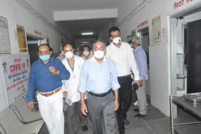 प्रमुख सचिव ने की स्वास्थ्य एवं परिवार कल्याण के कार्यक्रमों की समीक्षा