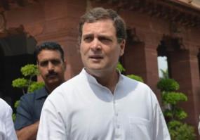 राहुल गांधी ने लद्दाख में भारतीय सैनिकों की शहादत पर शोक जताया