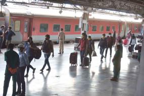 रेलवे ने पूर्वोत्तर के फंसे हुए 1.25 लाख लोगों को गंतव्य पहुंचाया