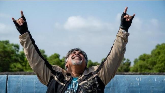 राम कपूर ने 3 महीने बाद बाइक की सवारी का आनंद लिया