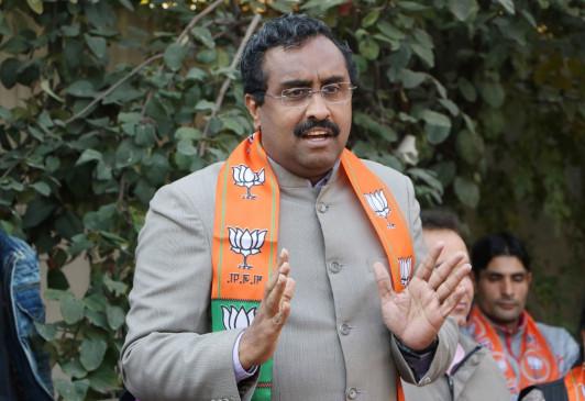 राम माधव ने कहा, लद्दाख में अक्साई चिन शामिल है