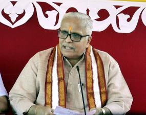 संघ सर कार्यवाहक भैय्या जी जोशी बोले- अयोध्या में राम मंदिर निर्माण का काम शुरू हो चुका है