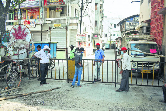 कंटेनमेंट जोन में 14 दिनों में नया मामला न मिलने पर हटेगी पांबदी