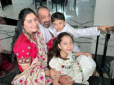 संजय दत्त को आई पत्नी, बच्चों की याद