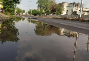 नागपुर में झमाझम बारिश, पारा लुढ़का, गर्मी से मिली राहत