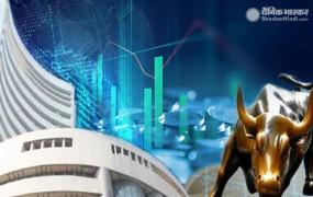 Share market: सेंसेक्स 375 अंक चढ़, निफ्टी 9,910 के पार बंद हुआ