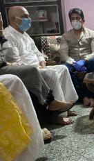 शेखर समुन पटना में सुशांत के परिजनों से मिले