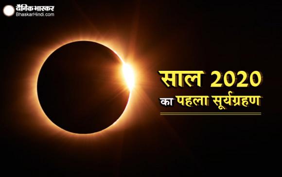 Solar Eclipse: सूर्यग्रहण समाप्त, आसमान में दिखा 'रिंग ऑफ फायर' का नजारा