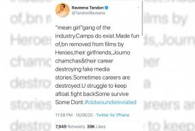 फिल्मों से कभी हीरो, तो कभी उनकी गर्लफ्रेंड्स की वजह से हटाया गया : रवीना