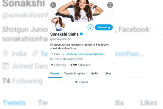 सोनाक्षी सिन्हा, साकिब सलीम ने नकारात्मकता के कारण ट्विटर छोड़ा