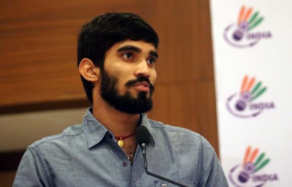 श्रीकांत ने बीएआई से माफी मांगी, खेल रत्न के लिए नामांकित