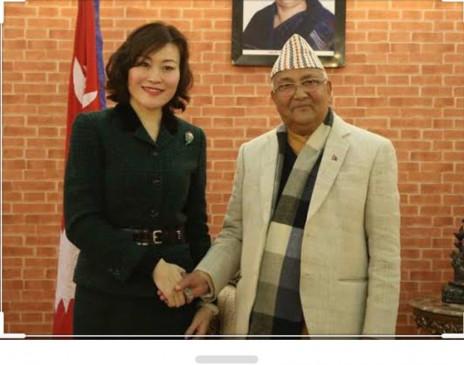 भारत- नेपाल विवाद: नए नक्शे के लिए चीनी राजदूत ने नेपाली पीएम ओली को किया था प्रेरित