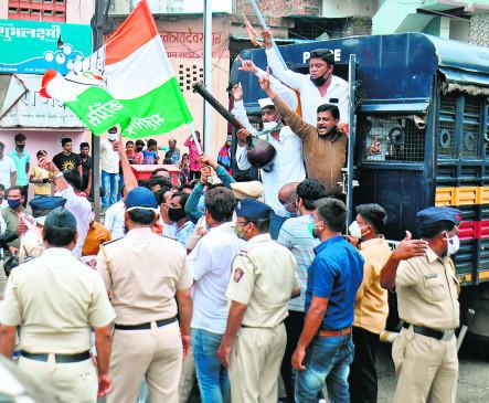 नागपुर मनपा की सभा फिर मुंढे पर ही बोला गया हमला