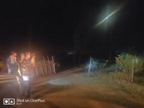 गन्ने के खेत में अपने शावकों के साथ छुपी है बाघिन, खौफजदा ग्रामीण
