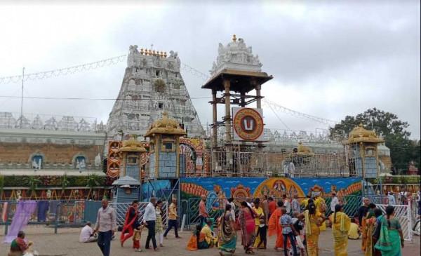 तिरुपति बालाजी मंदिर के कपाट 80 दिनों बाद फिर से खुले