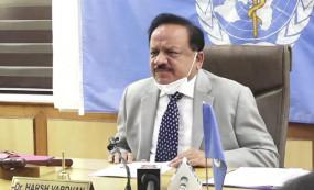 केन्द्रीय स्वास्थ्य मंत्री हर्षवर्धन ने कोरोना टेस्टिंग के लिए मोबाइल लैब लांच किया