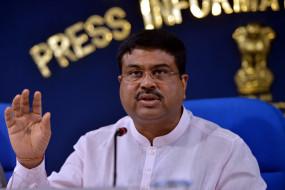 केन्द्रीय मंत्री प्रधान ने की 500 साल पुराने मंदिर के जीर्णोद्धार की मांग
