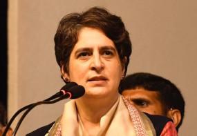 पशुपालन विभाग घोटाला: प्रियंका का हमला- यूपी सचिवालय भ्रष्टाचार का अड्डा बन गया है