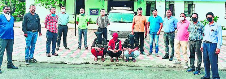 नागपुर में करते थे नशीली दवा सप्लाई, 2 तस्कर सहित तीन गिरफ्तार