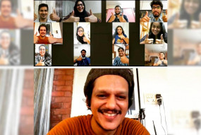 विजय वर्मा ने वीडियो कॉल के जरिए डॉक्टर्स को प्रोत्साहित किया